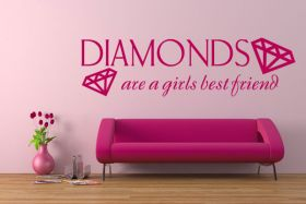 Diamonds are a girls